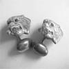 Lions Head Cuff Links
