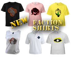 New Faction Shirts